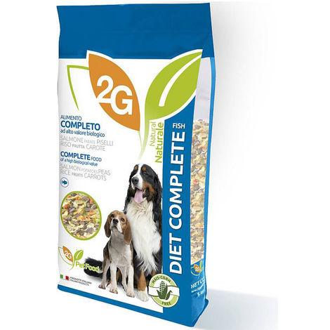 DIET COMPLETE FISH alimento completo grain-free per cani ricco di proteine per mantenere la massa muscolare magra e denti più sani 8 Kg