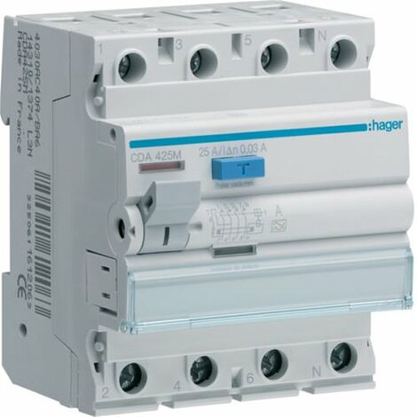 DIF.4P 40A 300mA TIPO-AC
