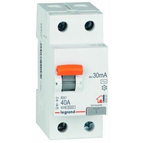 Diferencial Electricidad 40 Amp 2 Polos Legrand 606094402057
