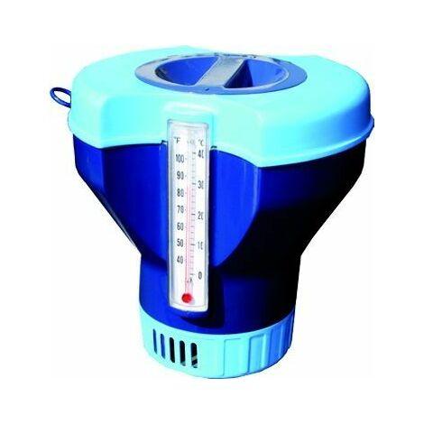 Diffuseur chlore Ø17,5cm avec thermomètre intégré
