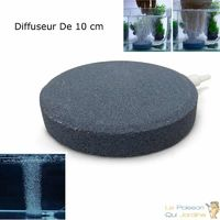 Diffuseur d'air plaque ronde 10 cm pour bassins de jardin et étangs