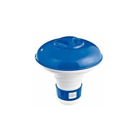 Diffuseur de chlore flottant pour piscine - Diamètre 12 cm - Livraison gratuite