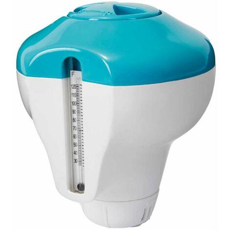 Diffuseur de produit flottant avec thermomètre pour piscine et spa - Intex