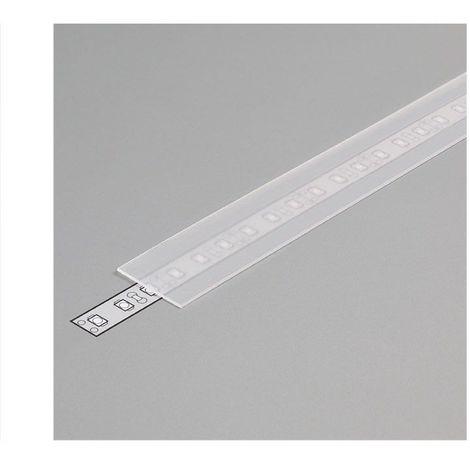 Diffuseur Dépoli 19,2mm x 2000 mm pour profilé LED