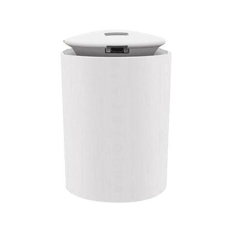 Diffuseur d'humidificateur de brume d'humidificateurs de 260 ml pour la chambre de voiture, la chambre de bebe, fonctionnement silencieux, fond de couleur LED, modele: blanc 169