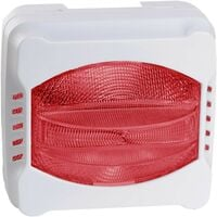 Diffuseur lumineux rouge