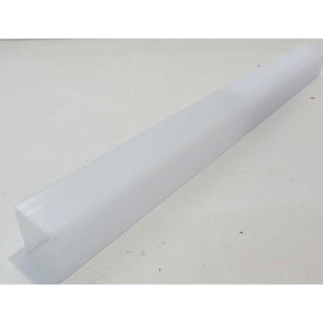 Diffuseur opale polystyrene pour reglette fluo T8 1X15W 437mm m/sse SYLVANIA 9046220