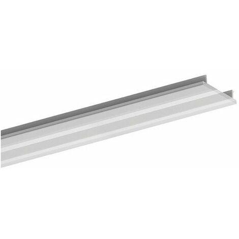 diffuseur pmma pour profilé de ruban led 'alu-epoxy' - 2 m - transparent