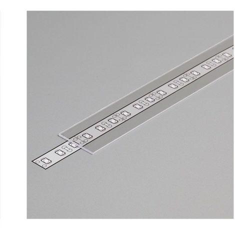 Diffuseur Transparent 19,2mm x 2000 mm pour profilé LED