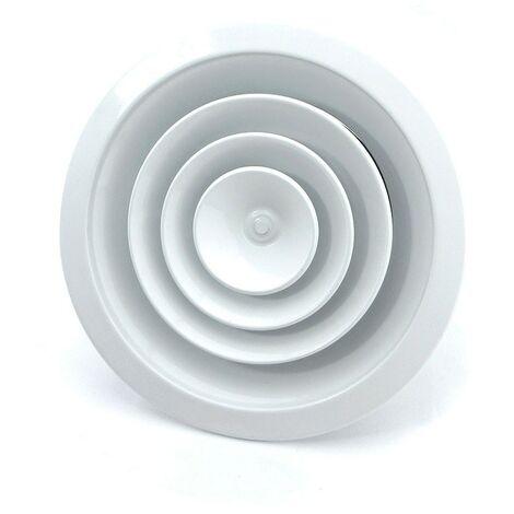 Difusor circular con regulacion blanco -Disponible en varias versiones