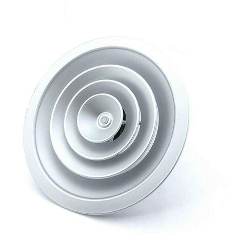 Difusor circular con regulacion plata mate -Disponible en varias versiones