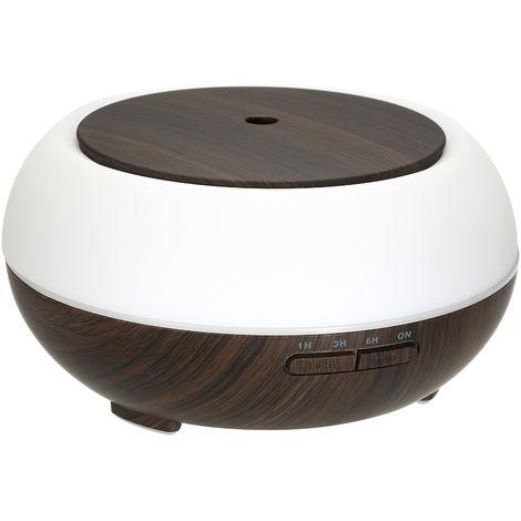 Difusor de aceite esencial de humidificador de 400 ml, lampara de noche Smart Wifi LED