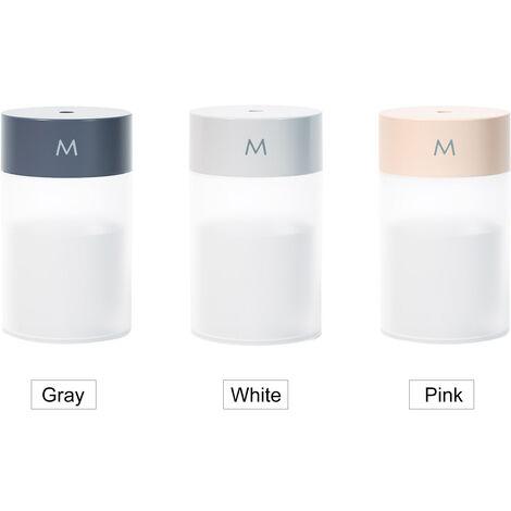 Difusor del humectador de la niebla 260mL, humectador fresco reservado de la luz colorida portatil de la noche
