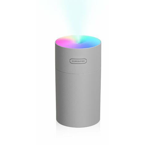 Difusor del humectador de la niebla del coche 270mL, luz colorida portatil de la noche
