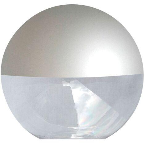 Difusor esférico policarbonato incoloro pintado gris -Disponible en varias versiones
