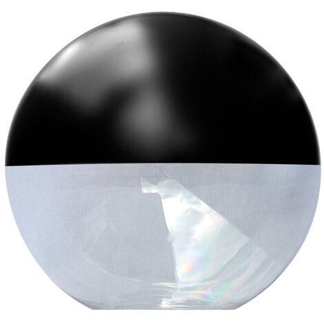 Difusor esférico policarbonato incoloro pintado negro -Disponible en varias versiones