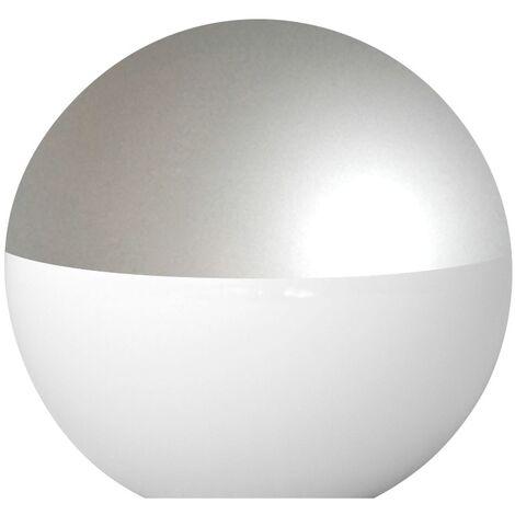 Difusor esférico policarbonato opal pintado gris -Disponible en varias versiones
