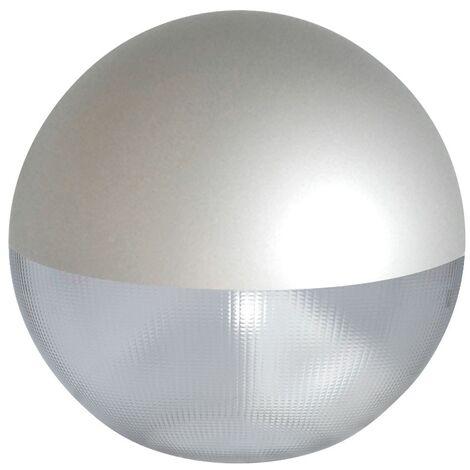 Difusor esférico policarbonato prismático pintado gris -Disponible en varias versiones