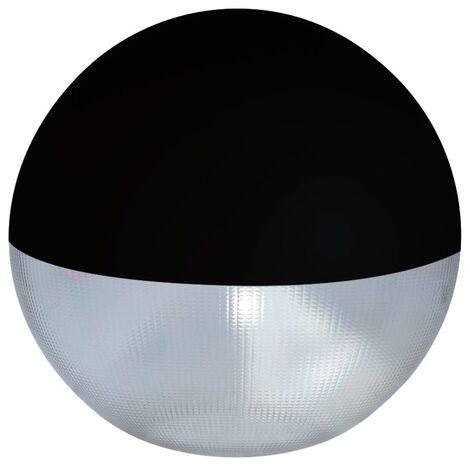 Difusor esférico policarbonato prismático pintado negro -Disponible en varias versiones