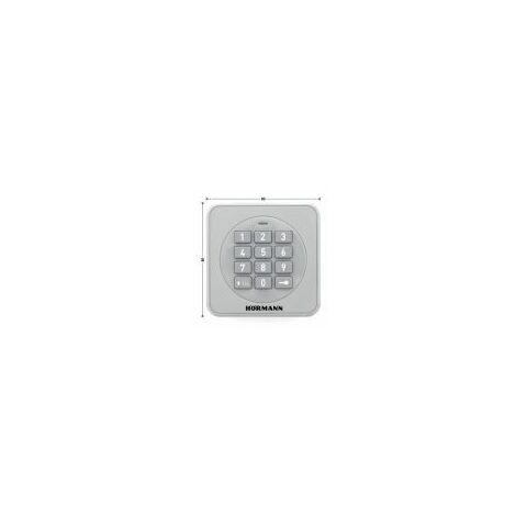 Digicode / clavier sans fil à touches éclairées FCT 3-1 BS BiSecur Hörmann - FCT31BS.
