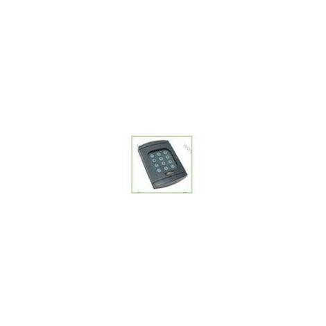 Digicode Décodeur à code radio illuminé sans fil 868.3 Mhz Berner Bouton Bleu - BHS591.