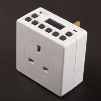 Digital 7 Day 24hr Electronic Plug Timer Switch Lyvia Mini Digital 7 Day Timer