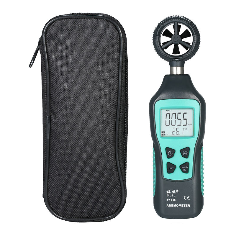 Image of Fuyi - Digital Anemometer Handheld Anemometer FY856 Shipped Without Battery