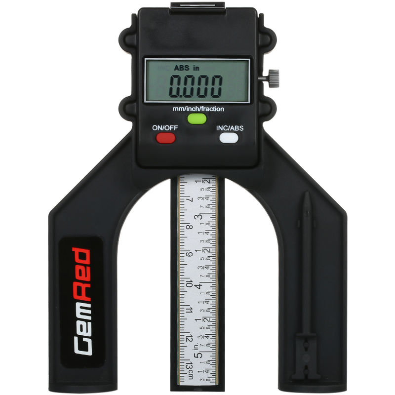 Image of Digital Depth Gauge Depth Ruler Depth Gauge Shipped without Battery - GEMRED