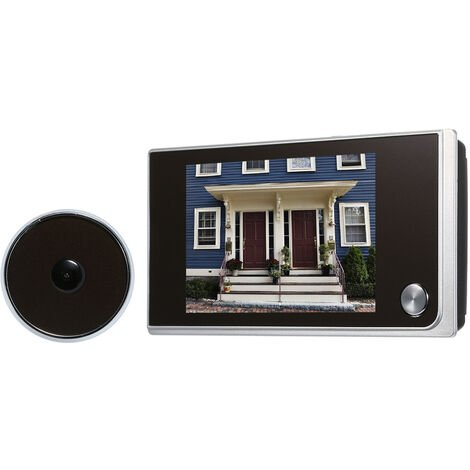 """main image of """"Digital Door Camera 3.5inch LCD Color Screen 120 Degree Peephole Viewer Door Eye Viewer (Batteries are not included)"""""""