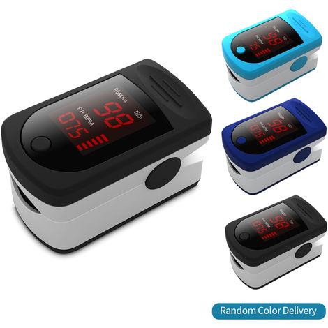 Digital Fingertip Pulse Oximeter LED Display Blood Oxygen Sensor Saturation SpO2 Monitor Measurement Meter