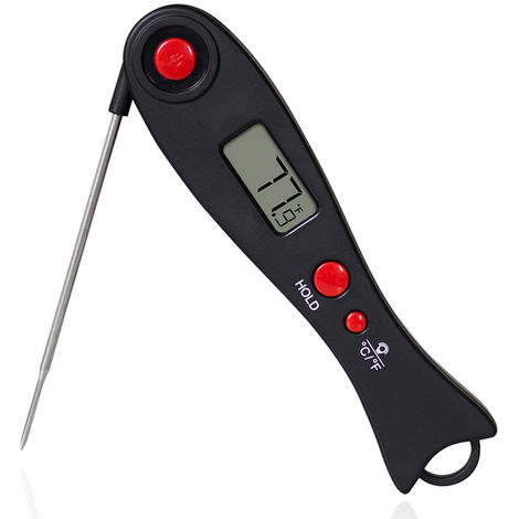 Digital Food Thermometer BBQ Grill Smoker Thermometer