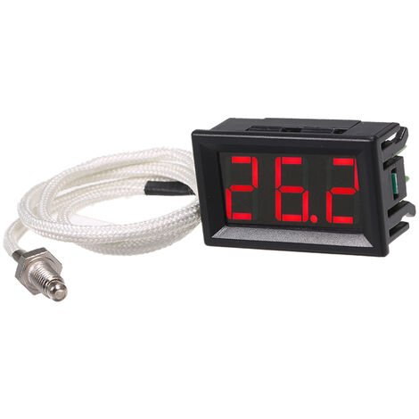 Digital high temperature thermometer XH-B310 red light