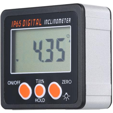 Digital Inclinometer Range 4 * 90 Degrees With Backlight