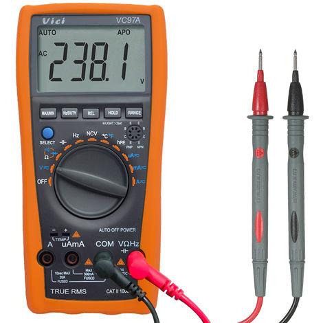 Digital multimeter circuit temperature measurement digital display VC97