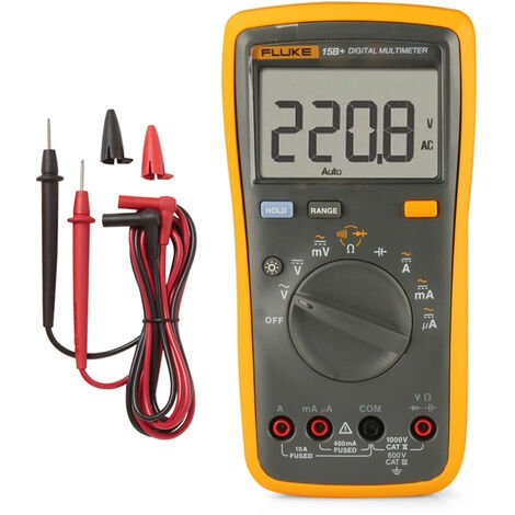 Digital Multimeter F15B + Ships Without Battery