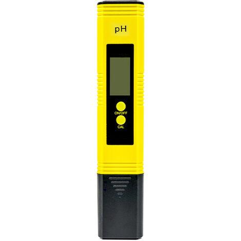 Digital Ph Avec 0-14 Ph Ecran Lcd Plage De Mesure Testeur Numerique Eau Ph Avec L'Atc Pour Boire L'Eau Domestique Hydroponique