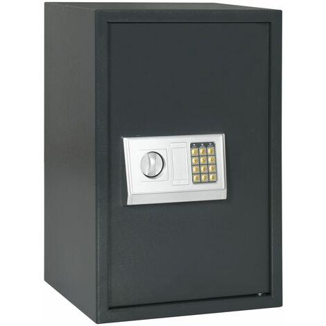 Digital Safe Dark Grey 40x35x60 cm