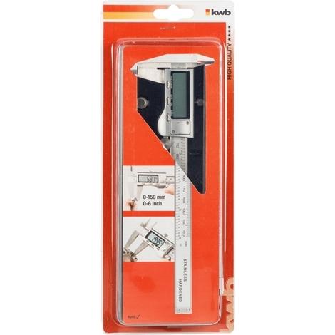 Digitale Schieblehre 0-150mm KWB 091000