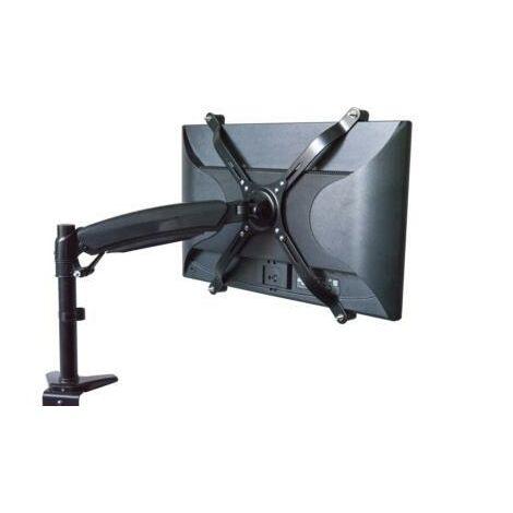 DIGITUS Adaptateur VESA 75x75, 100x100 - Pour les moniteurs sans support VESA - Jusqu'à 8 kg - Jusqu'à 30 pouces - Noir