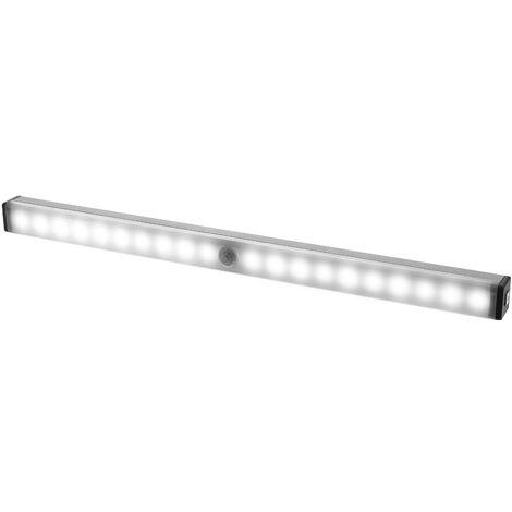 Digoo 1.5W 297mm Lámpara LED Magnética Sensor de Cuerpo Humano Luz USB BLANCO FRÍO