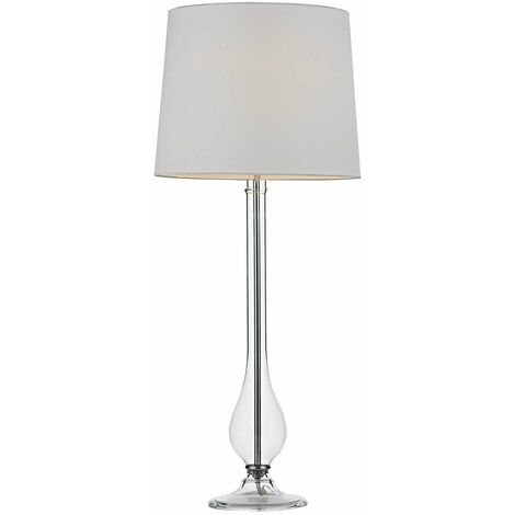 Dillon 1-light glass table lamp