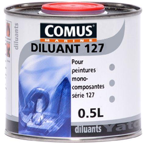 DILUANT 127 - 0,5L Diluant pour produits à base de résines alkydes (série 127) - COMUS MARINE - incolore