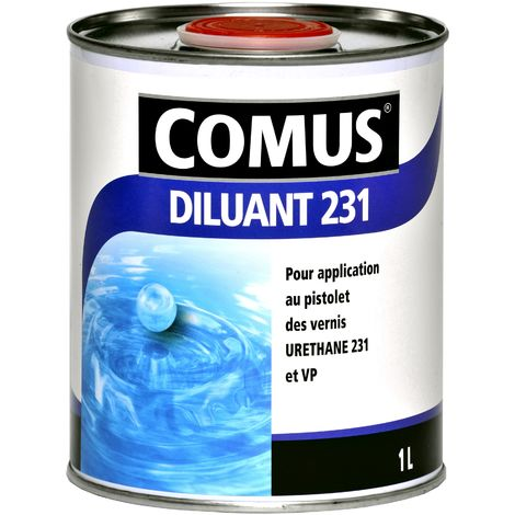 DILUANT 231 - 1L Diluant pour URETHANE 231, URETHANE VP et ECRAN 400 - COMUS - incolore