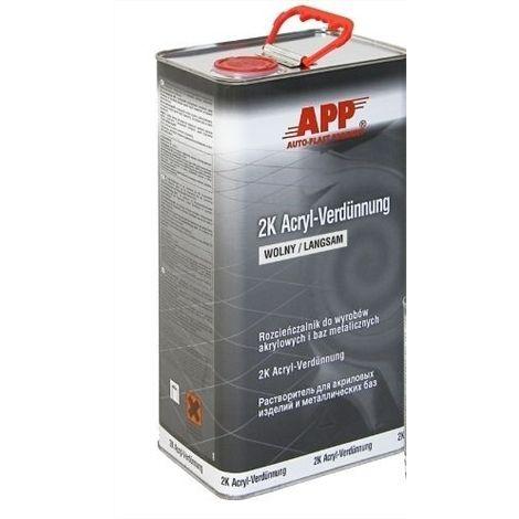 diluant acrylique à évaporation rapide 5l