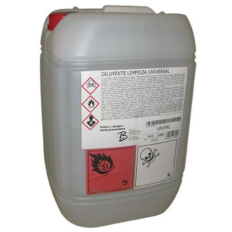 Diluant de nettoyage distillé économique qs.93 - Contenance : 25 L - ITAR