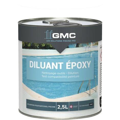 DILUANT EPOXY 2,5L -Solvant de dilution des peintures MATCOSOL-GMC - NC