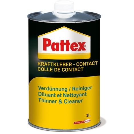 Diluant et nettoyant pour colles néoprènes PATTEX - bidon 1L - 1419295