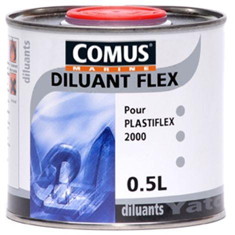 DILUANT FLEX 0,5L - Diluant pour peintures pneumatiques - COMUS MARINE - incolore