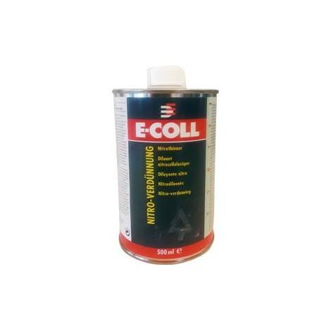Diluant nitrocellulosique 500ml E-COLL (Par 24)