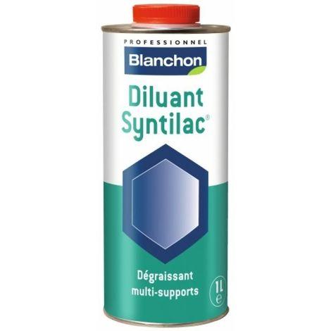 Diluant Syntilac®, dégraissant avant application de la finition et solvant pour nettoyage des ustensiles bidon de 1l